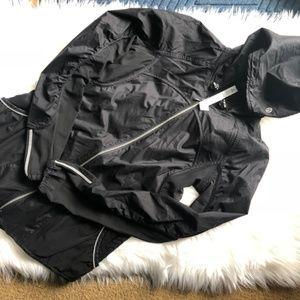 Lululemon Fast & Free Jacket Black Size 2 NWOT!